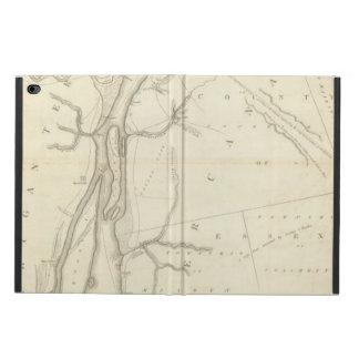 デトロイト川の地図 POWIS iPad AIR 2 ケース