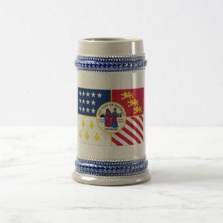 デトロイト旗 ビールジョッキ
