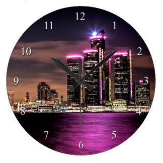 デトロイト柱時計 ラージ壁時計