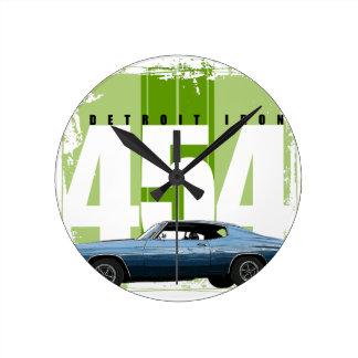 デトロイト筋肉Chevelle 壁時計