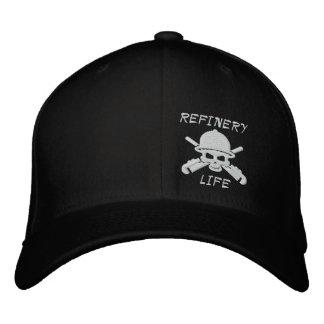 デトロイト精製所-精製所の生命帽子 刺繍入りキャップ