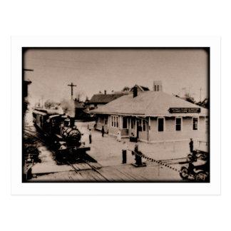 デトロイト、トレドおよびIrontonの鉄道 ポストカード