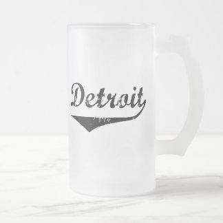 デトロイト フロストグラスビールジョッキ