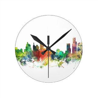 デトロイト、ミシガン州スカイラインSP - ラウンド壁時計