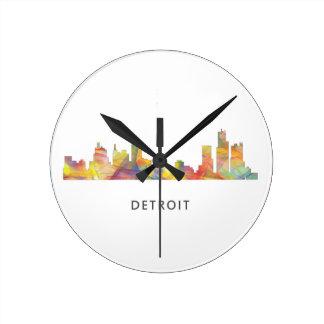 デトロイト、ミシガン州スカイラインWB1 - ラウンド壁時計