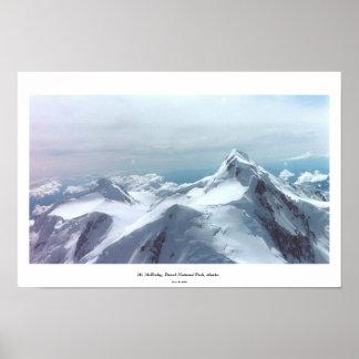 デナリのDenaliの国立公園、アラスカ ポスター