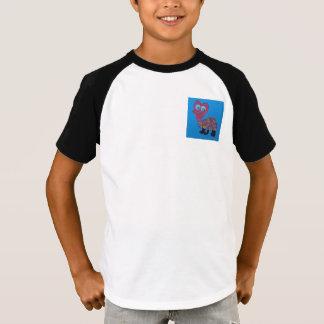 デニスの子供のオーガスタ2ボタンの野球ジャージー Tシャツ