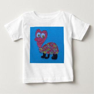 デニスの赤ん坊の罰金のジャージーのTシャツ ベビーTシャツ