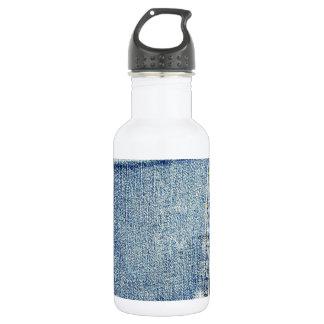 デニムのジーンズのポケット青い生地のスタイルのファッションの金持ち ウォーターボトル