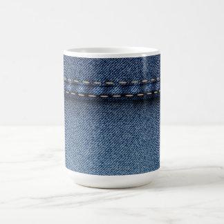 デニムのジーンズ コーヒーマグカップ