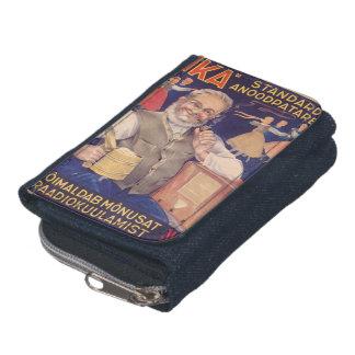デニムのヴィンテージのエストニアの財布 ウォレット