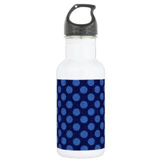 デニムの水玉模様 ウォーターボトル