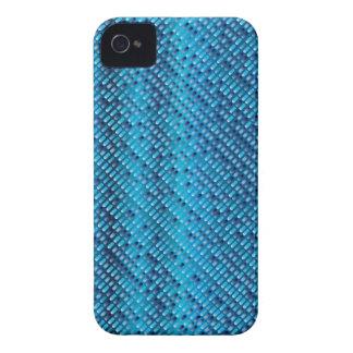 デニムの青の背景 Case-Mate iPhone 4 ケース
