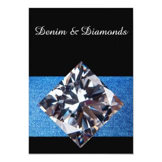 デニム及びダイヤモンドの招待状II カード