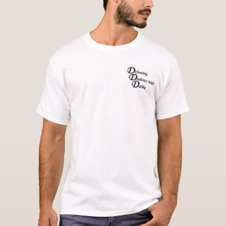 デビーが付いている糖尿病の敗北 Tシャツ