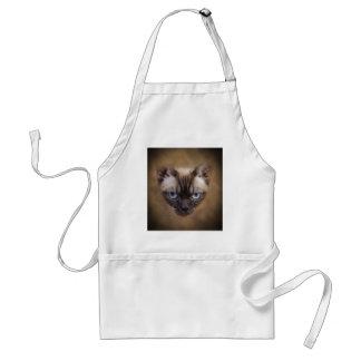 デボンのレックス猫の顔 スタンダードエプロン