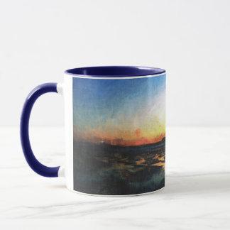 デボンの日没 マグカップ