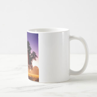デボンイギリス木の生命の樹 コーヒーマグカップ