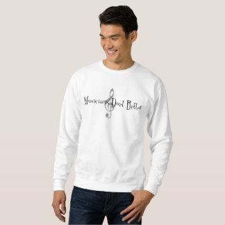 デュエットの(三重の)人の基本的なスエットシャツ スウェットシャツ