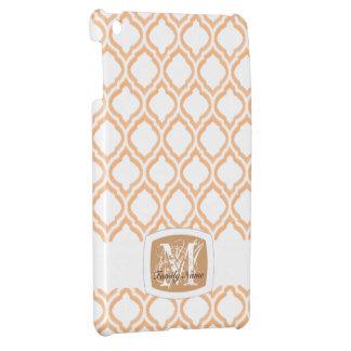 デュオ調子のモロッコの格子垣(オレンジ) iPad MINIケース