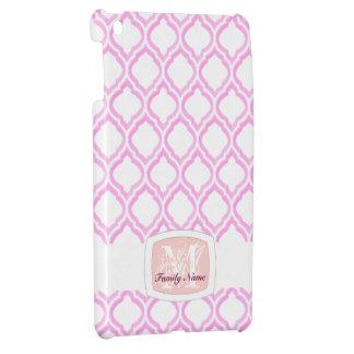 デュオ調子のモロッコの格子垣(ピンク) iPad MINI カバー