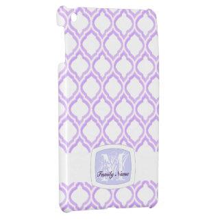 デュオ調子のモロッコの格子垣(薄紫) iPad MINIカバー