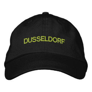 デュッセルドルフの帽子 刺繍入りキャップ