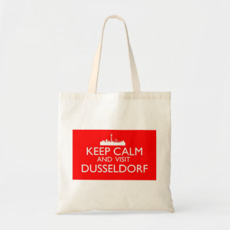デュッセルドルフ穏やか、訪問保って下さい トートバッグ