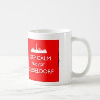 デュッセルドルフ穏やか、訪問- -マグ保って下さい コーヒーマグカップ
