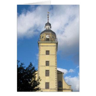 デュッセルドルフ、ドイツの時計台 カード
