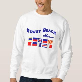 デューイのビーチ スウェットシャツ