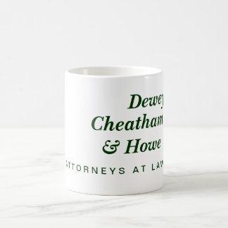 デューイ、Cheatham及びHowe コーヒーマグカップ