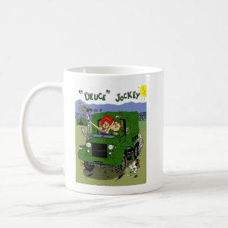 デュースのジョッキー コーヒーマグカップ