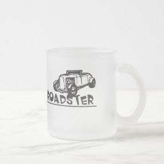 デュースのロードスター フロストグラスマグカップ