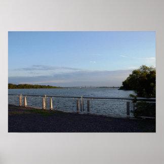 デラウェア川フィラデルヒィアの写真 ポスター