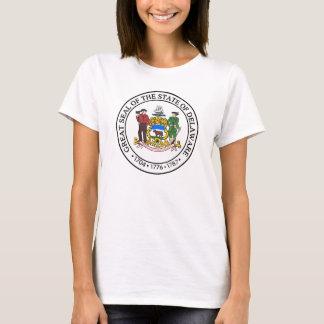 デラウェア州のシール Tシャツ