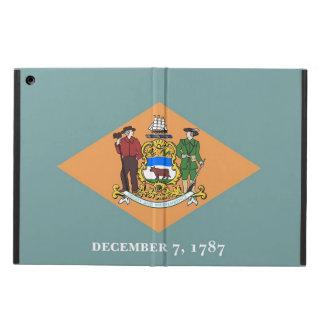 デラウェア州の旗との愛国心が強いipadの場合 iPad airケース