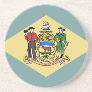 デラウェア州の旗 コースター