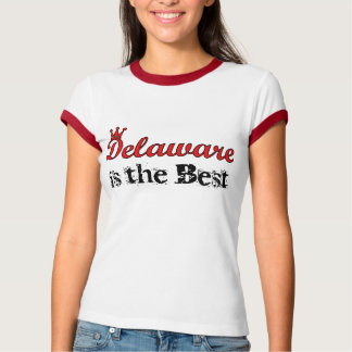 デラウェア州は最も最高のなTシャツです Tシャツ
