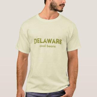 デラウェア州クールな豆のワイシャツ Tシャツ