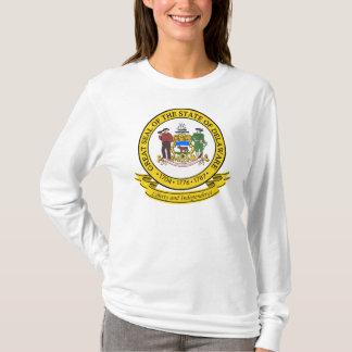 デラウェア州シール Tシャツ