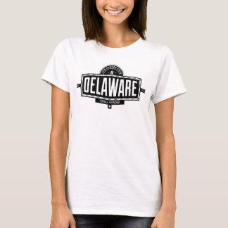 デラウェア州バッジのデザイン Tシャツ