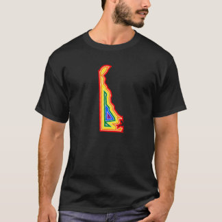 デラウェア州プライドの破烈のティー(#12) Tシャツ