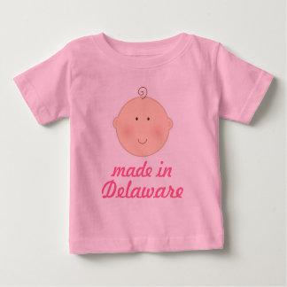 デラウェア州ベビーまたは幼児のティーで作られる ベビーTシャツ