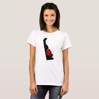 デラウェア州州のてんとう虫のTシャツ Tシャツ