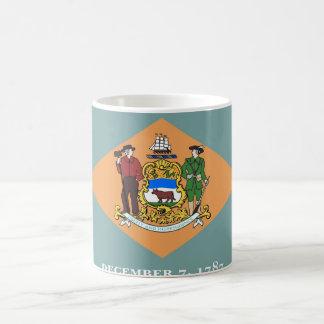 デラウェア州州米国の旗が付いているマグ コーヒーマグカップ