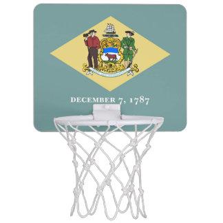 デラウェア州旗 ミニバスケットボールゴール