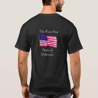 デラウェア州最初の星-- Tシャツ