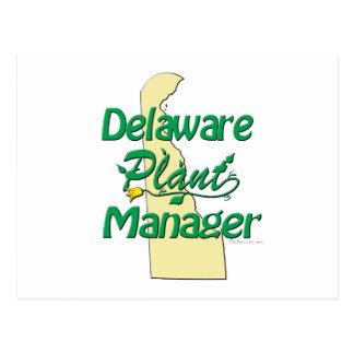 デラウェア州植物マネージャー ポストカード