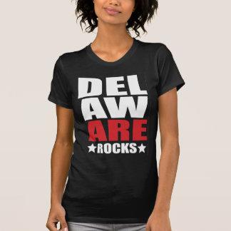 デラウェア州石! 州の精神の服装 Tシャツ